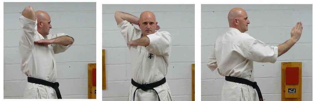 Karate: golpes circulares, uchi waza Shuto_sakotsu_uchi
